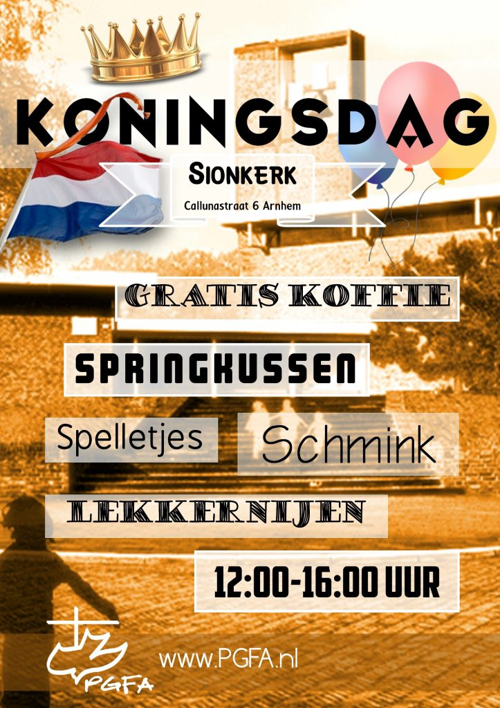 Uitnodiging koningsdag 27 april 2017
